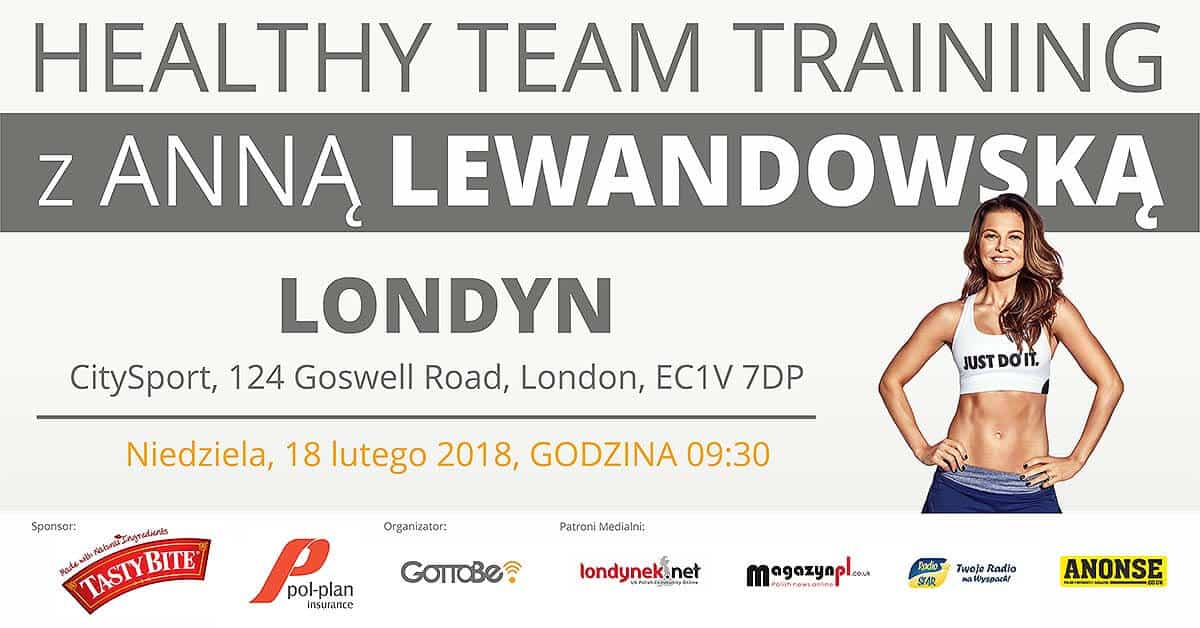 "Featured image for ""Healthy Team Training with Anna Lewandowska in London!"""