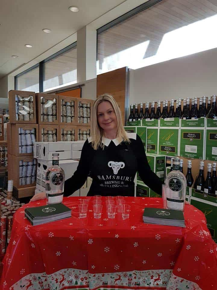 Christmas Gin Sampling In Waitrose