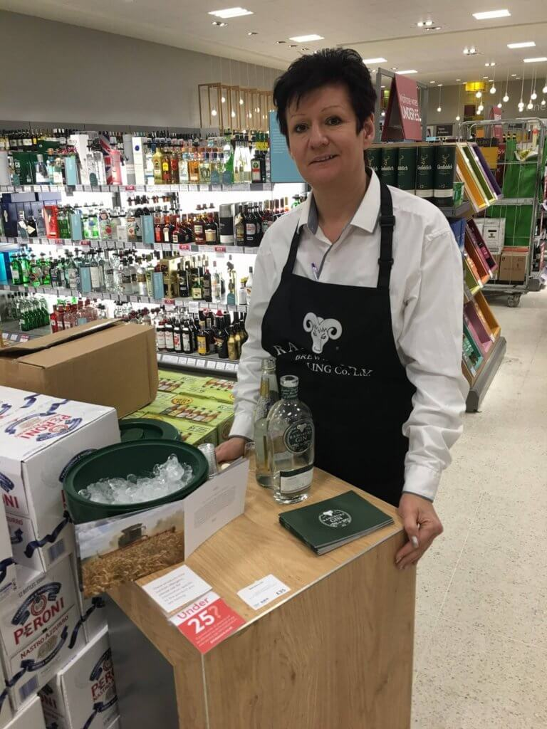 Ramsbury Gin Sampling In Waitrose
