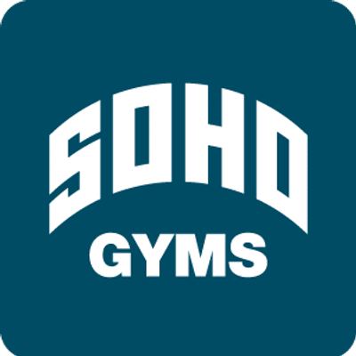 "Logo for ""Soho Gyms"""