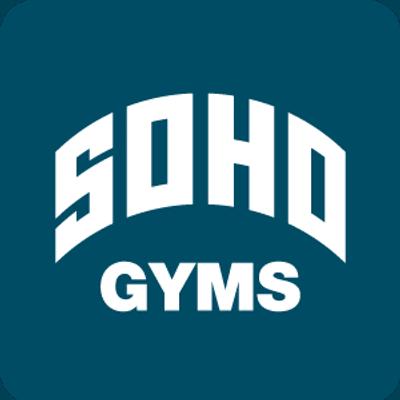 """Logo for """"Soho Gyms"""""""